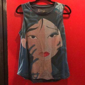 Hot Topic Tops - Mulan reflection tank
